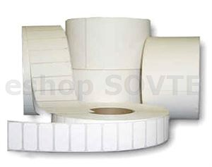 "3/6"" DTM Poly White Gloss 2x1"" (51x25mm), 2375x"