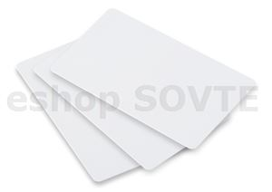 20mil CR80 PVC NO adhesive white blank glossy card