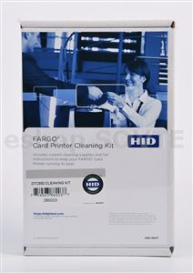 HID Fargo DTC550 Card Printer Cleaning Kit 086003