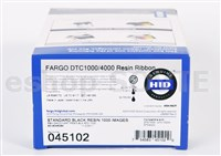 Fargo 045102 EZ Standard Black (K) Cartridge w/Cleaning Roller - 1000 images